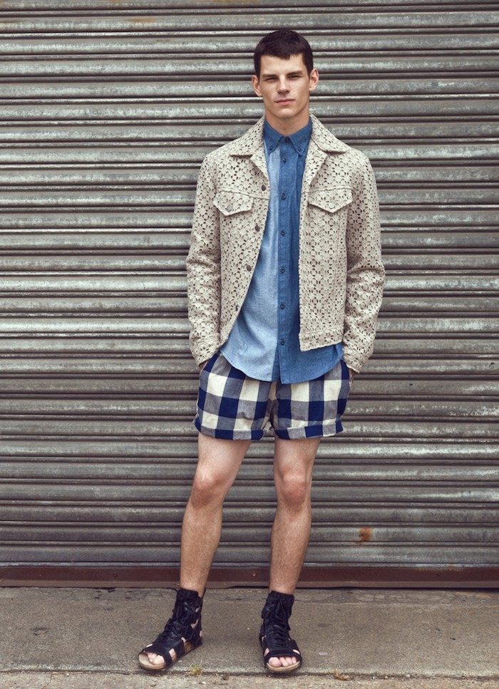style-hipster-new-yorkais-ete-chaussure-spartiate-short-carreaux-chemise-jean
