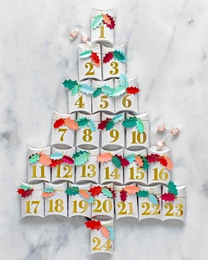 superbe-calendrier-de-l-avent-sous-la-forme-d-un-arbre-de-noel-superbe-idee-diy-bricolage-noel