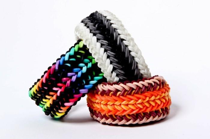 superbe-idee-comment-faire-des-bracelets-en-elastique-idee-extremement-esthetique-de-bracelet-multicolores