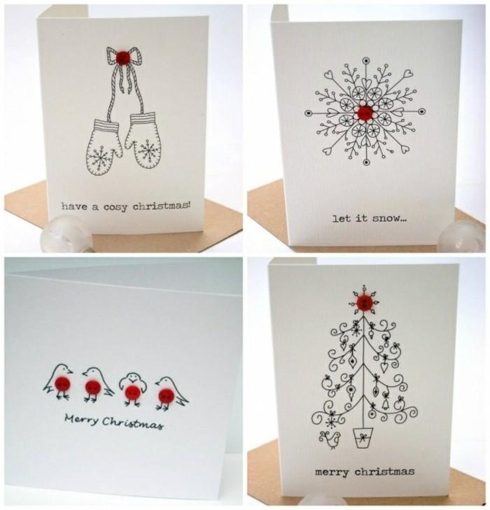 superbe-idee-de-cartes-denoel-minimalistes-et-faciles-a-faire-dessiner-de-simples-motifs-sur-un-bout-de-papier