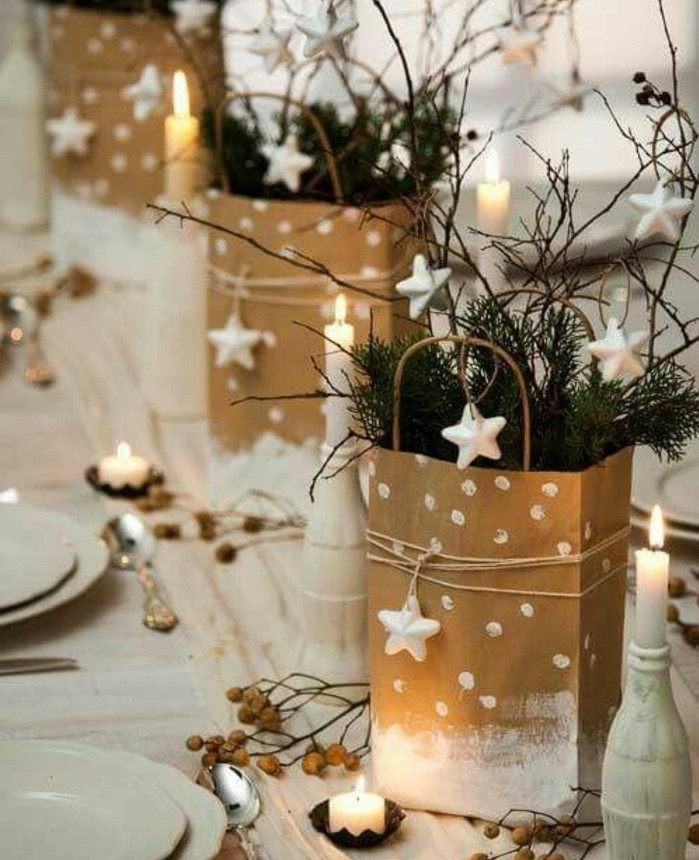 superbe-idee-deco-de-table-noel-idee-diy-decoration-de-noel-a-fabriquer