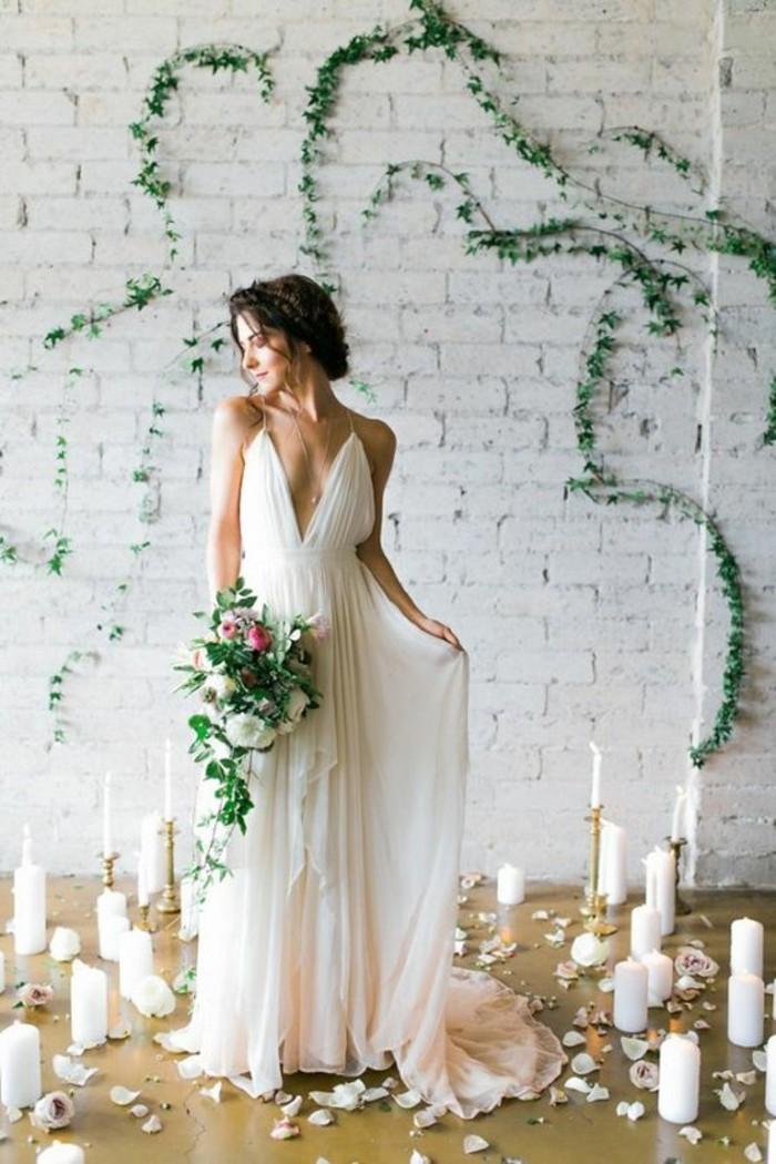 superbe-robe-de-mariee-simple-et-originale-longue-boheme