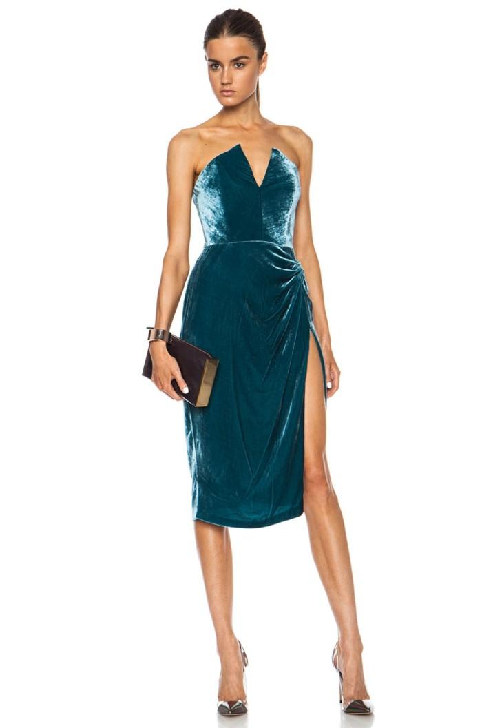 superbe-robe-velour-robe-velours-fille-elegance