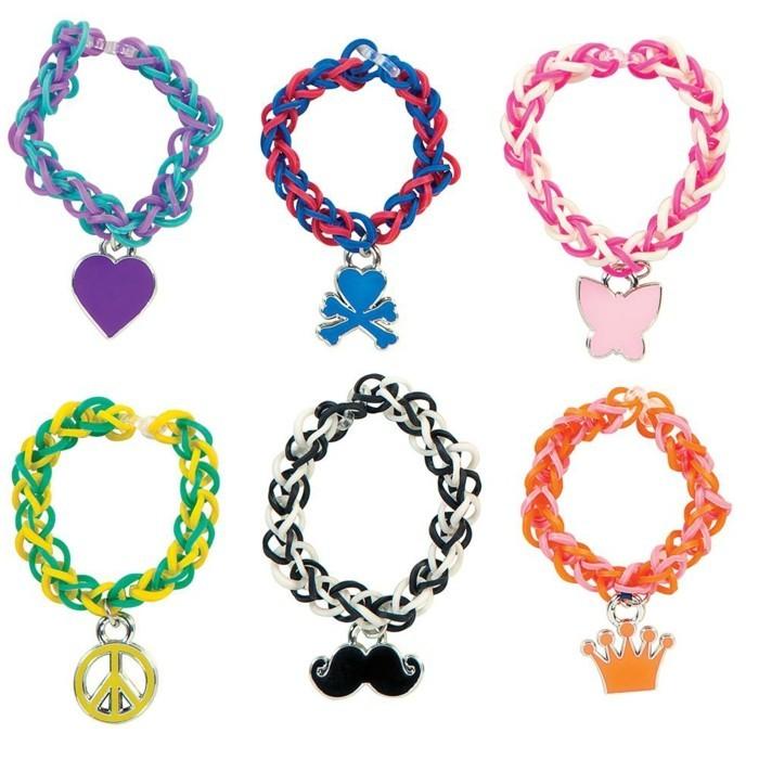 superbes-exemples-de-bracelet-elastique-simple-pare-de-pendentifs
