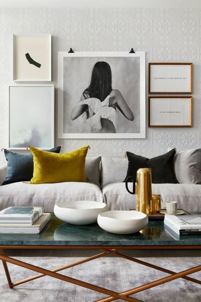 Table Basse En Marbre 58 Idées Pour Donner Du Style Au Salon
