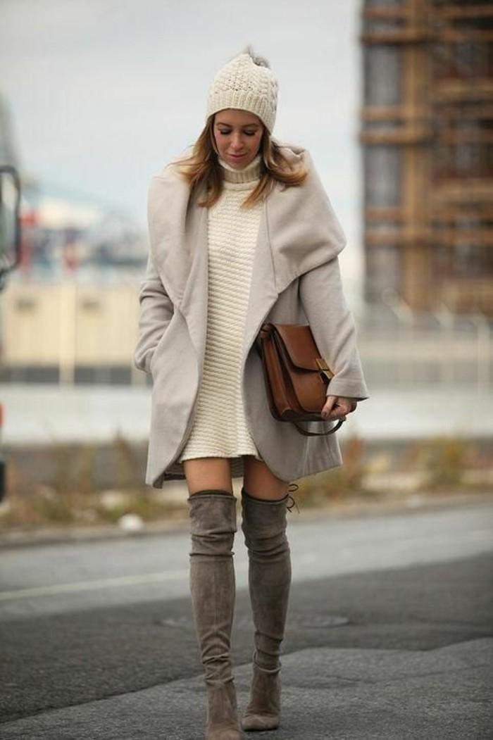 Le pull col roul femme 71 tenues qui nous r chauffent - Les vetements d hiver ...