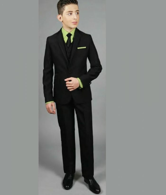 tenue-de-mariage-enfant-ceremonieexpress-costume-garcon-noir-avec-chemise-et-cravate-vert-reseda-resized