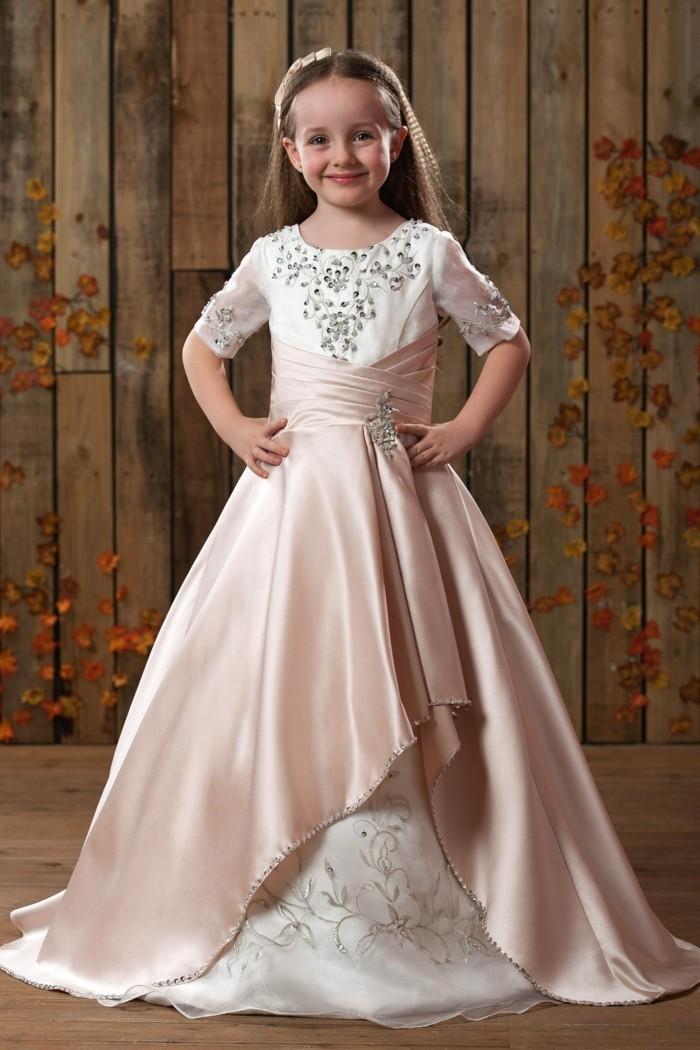 tenue-de-mariage-enfant-tidebuy-avec-un-voile-en-satin-rose-pale-superpose-resized