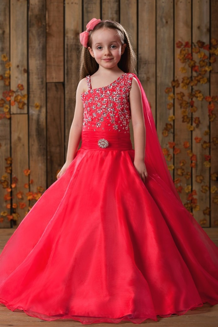 tenue-de-mariage-enfant-tidebuy-rouge-avec-la-taille-soulignee-resized