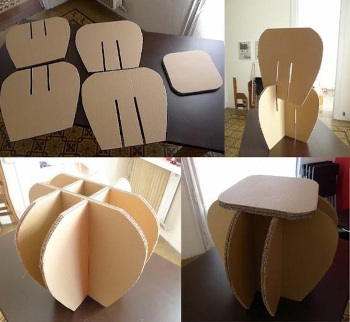 Meuble en carton 60 id es que vous pouvez r aliser vous - Fabriquer meuble industriel ...