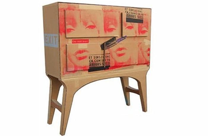 une-commode-en-carton-a-motifs-pop-art-a-fabriquer-une-idee-superbe-pour-decorer-son-interieur