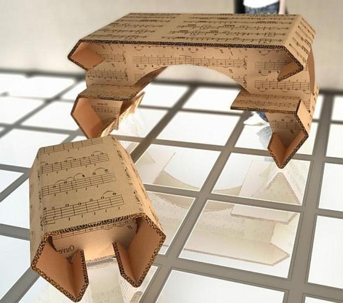 une-idee-interessante-tuto-meuble-en-carton-table-et-tabouret-en-carton
