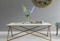 Table basse en marbre – 58 idées pour donner du style au salon