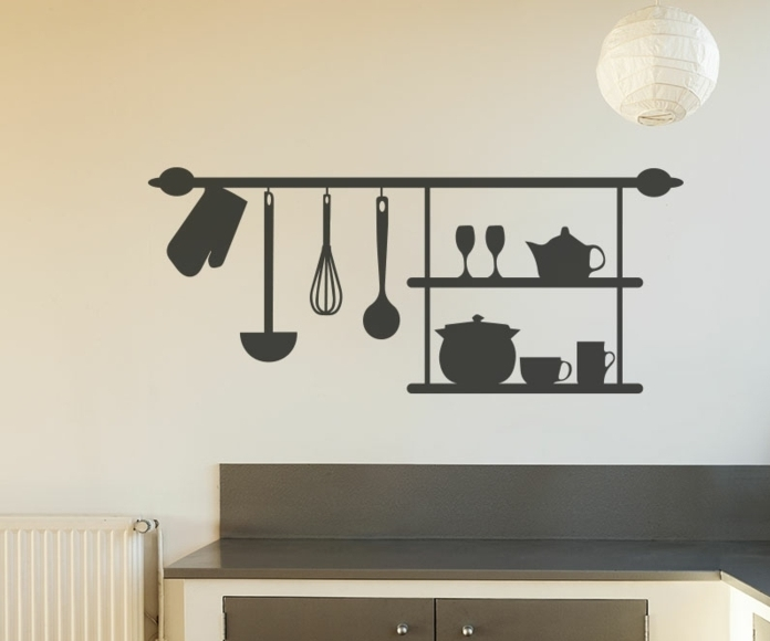 ustensiles-de-cuisine-une-idee-deco-cuisine-tres-originale-et-imaginative