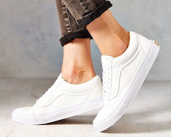 vans old skool cuir homme