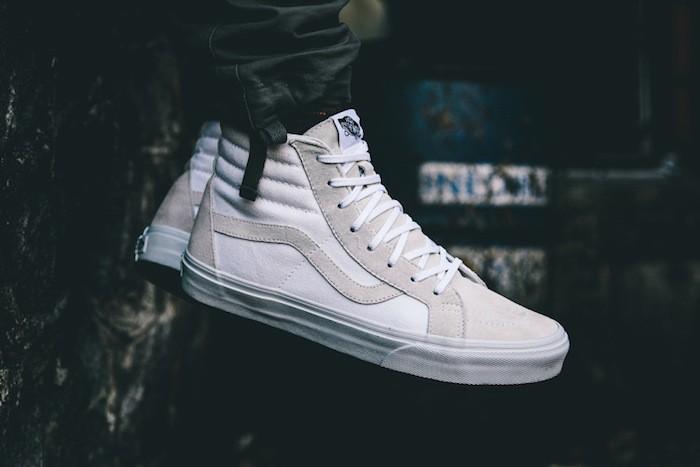 vans-sk8-hi-old-skool-skate-cuir-suede-blanc-blanche-grise