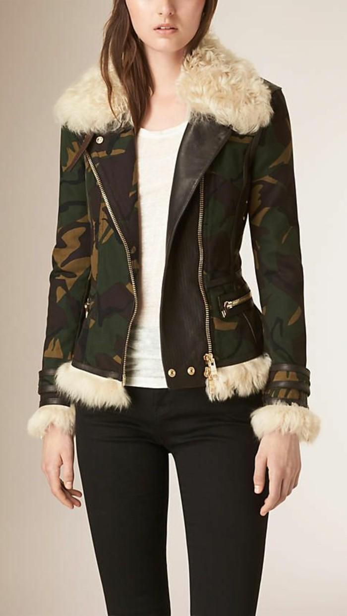 veste-femme-militaire-tendande-camo-veste-aviateur