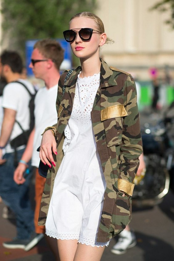 veste-style-militaire-tendance-camo-veste-longue-robe-blanche