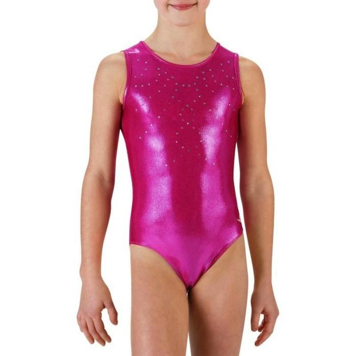 vetement-de-sport-enfant-decathlon-justaucorps-rose-en-strass-blanc-pour-la-gym-resized