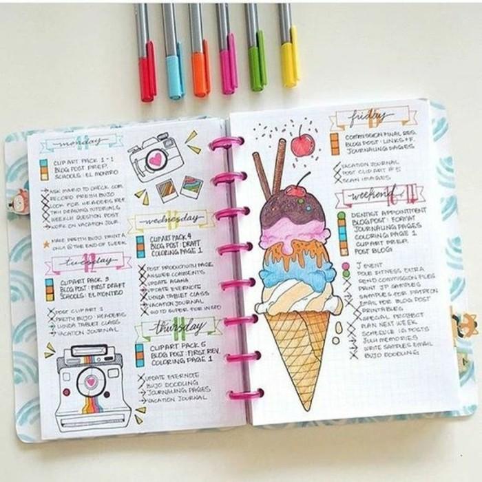 egayer-son-agenda-scolaire-avec-de-jolis-dessins-dont-le-theme-tourne-autour-de-vos-projets
