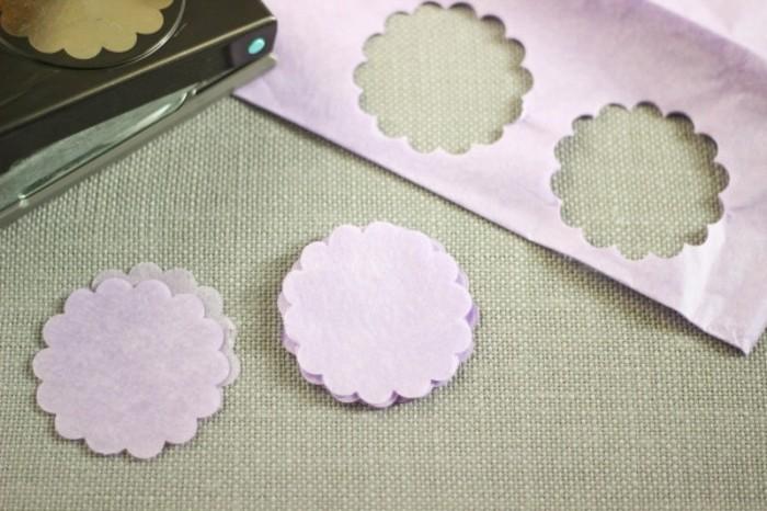 Fabriquer une fleur en papier de soie 67 id es diy - Guirlandes en papier a faire soi meme ...