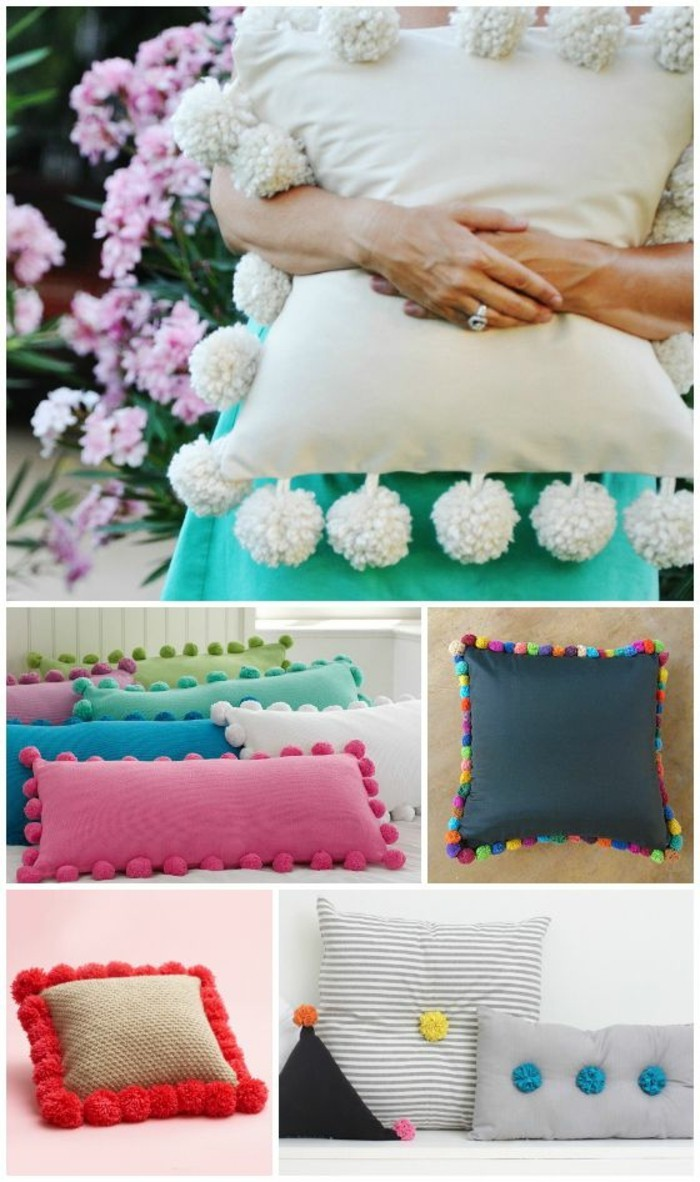 comment-faire-un-pompon-coussins-decoration-multicolore