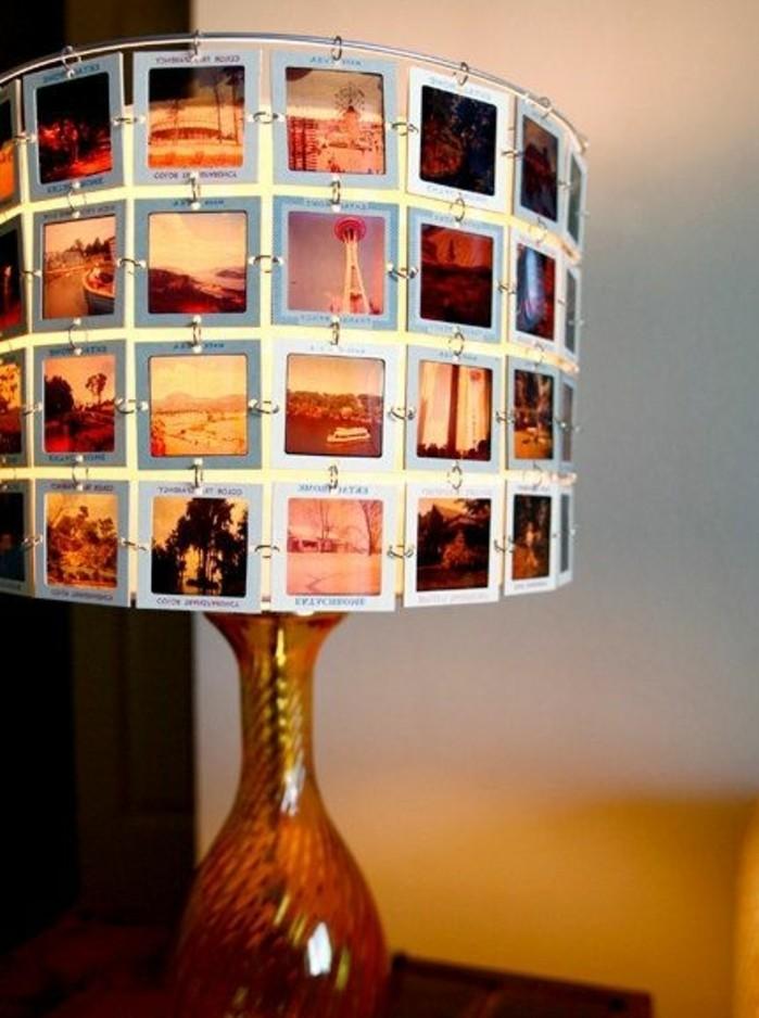 abat-jour-diy-constitue-de-photos-idee-pour-faire-un-luminaire-interessant-soi-meme