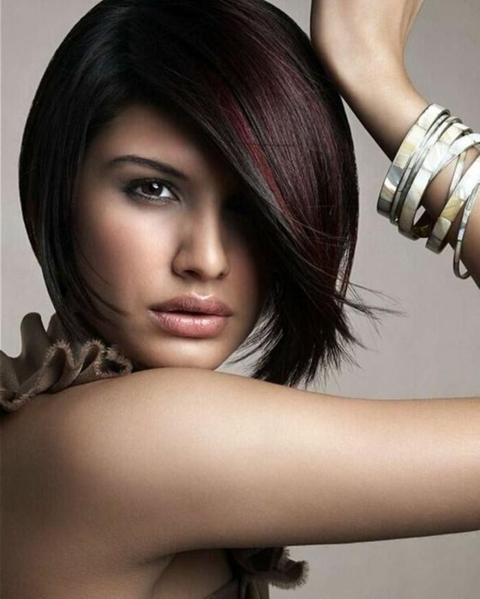 Couleur de cheveux acajou - 64 photos pour choisir votre nuance - Archzine.fr