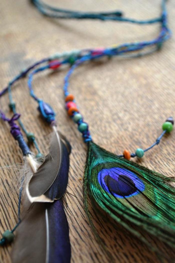 acheter-plumes-en-bleu-vert-gris-violet-orange