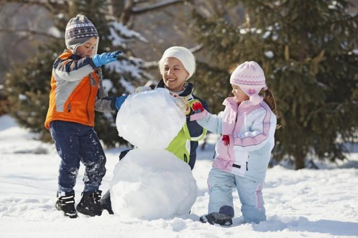 Deco noel bonhomme de neige comment faire un bonhomme