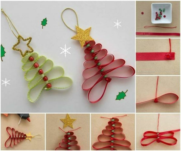 activite-manuelle-noel-sapins-rouges-et-verts-pendentifs