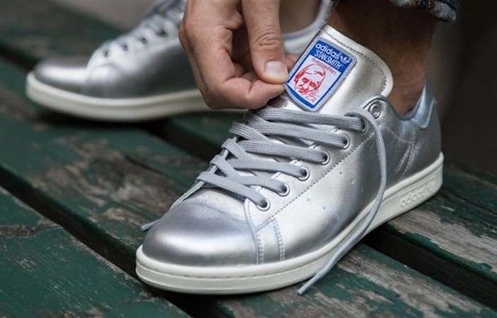 adidas stan smith argent scratch