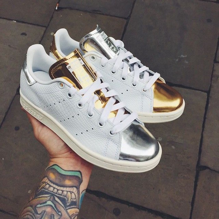 Stan Smith Or Argent