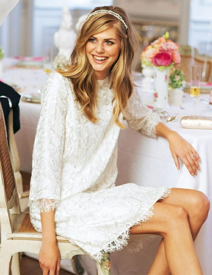 adorable-mariee-belle-robe-mariee-courte-robe-de-mariee-courte-chic