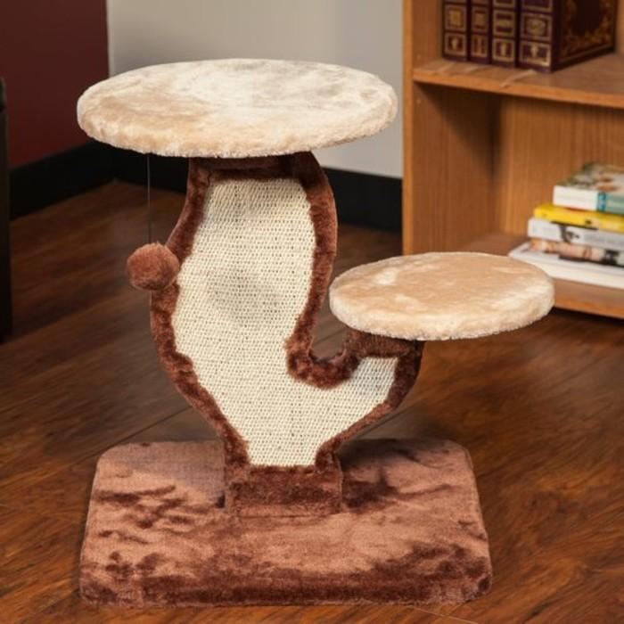 arbre-a-chat-grattoir-pour-chat-griffoir-original-deux-niveaux