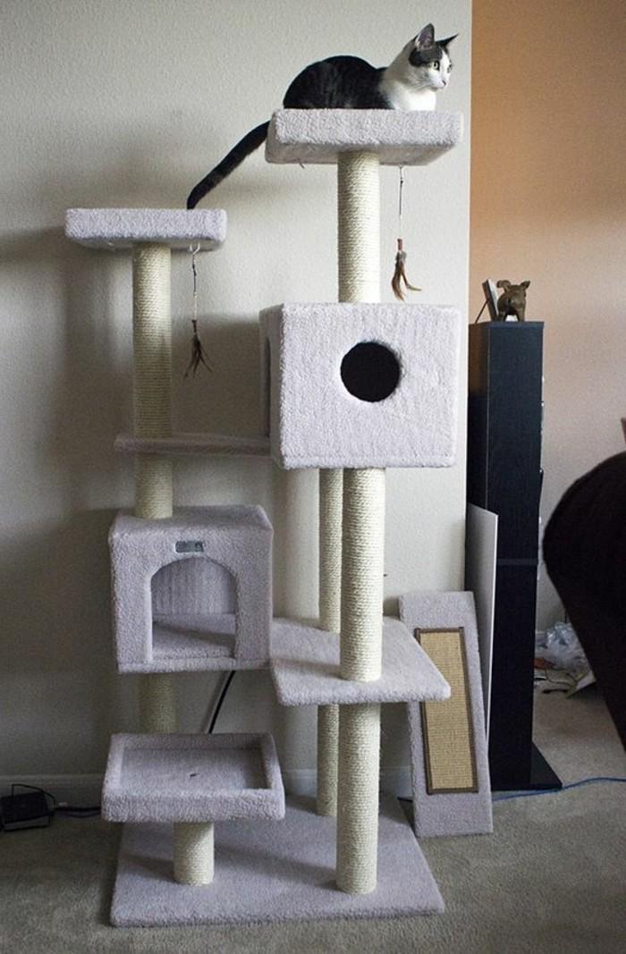 arbre-a-chat-gris-arbre-a-chat-niches-maisons-de-chat