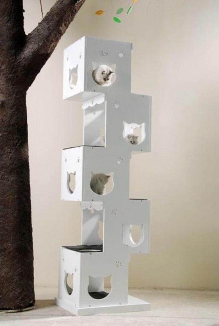 arbres-a-chats-niches-pour-plusieurs-chats-design-vertical