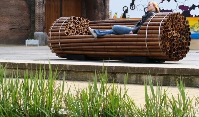 bambou-en-jardiniere-banc-a-repos-idee-stupefiante-confortable