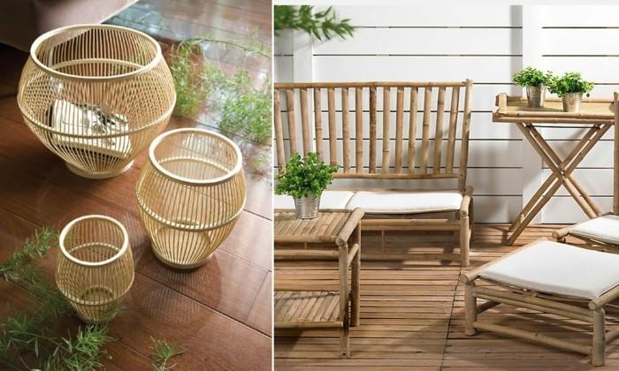 Que faire avec des bambous - trouvailles exotiques en 60 photos