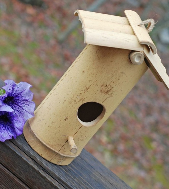 Que faire avec des bambous trouvailles exotiques en 60 photos - Fabriquer un epouvantail a oiseaux ...
