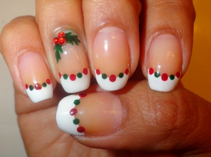 belle-idee-nail-art-hiver-ongles-pour-noel-unique-simple-idee