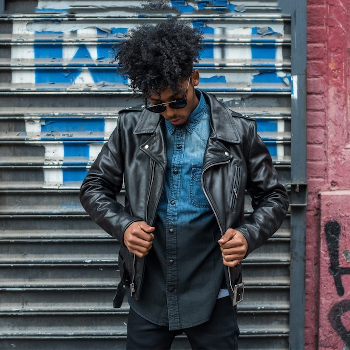 blouson-cuir-noir-perfecto-homme-vintage-motard-annees-50-manteau-aviateur-james-dean