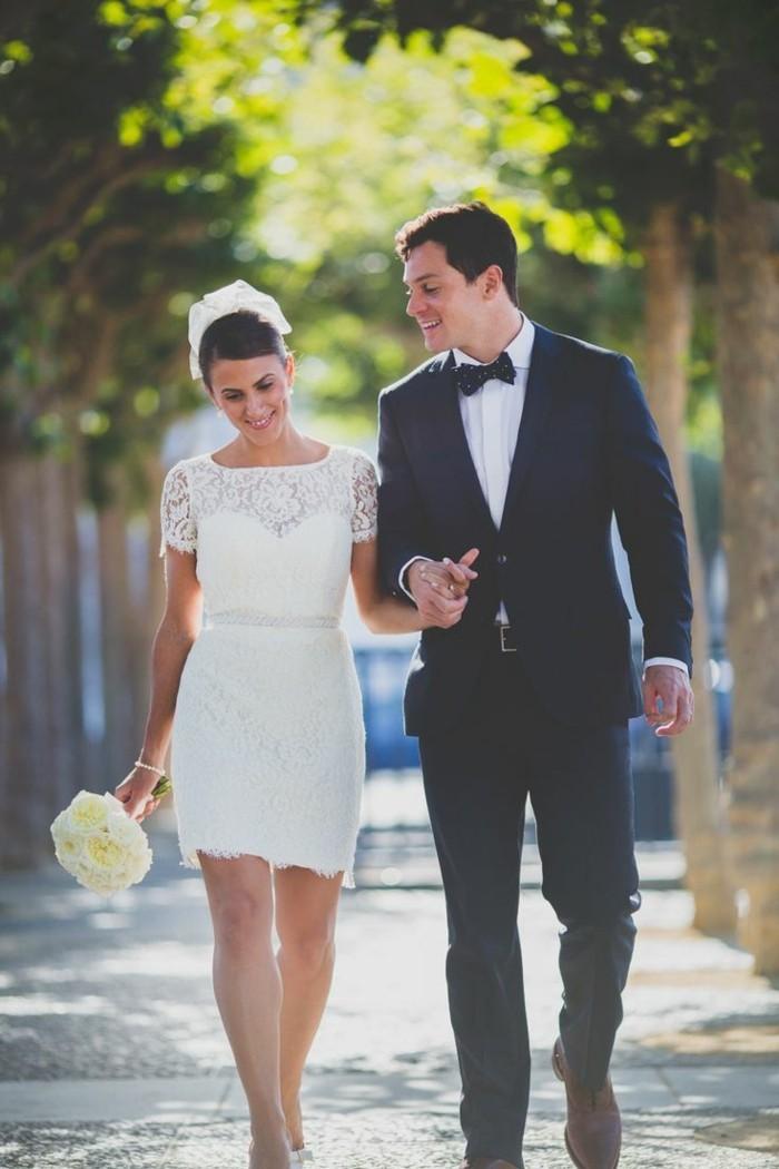 Robe mariage civil boheme chic