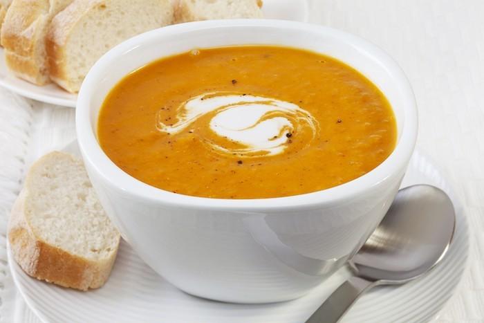 bol de soupe potiron recette soupes legumes hiver