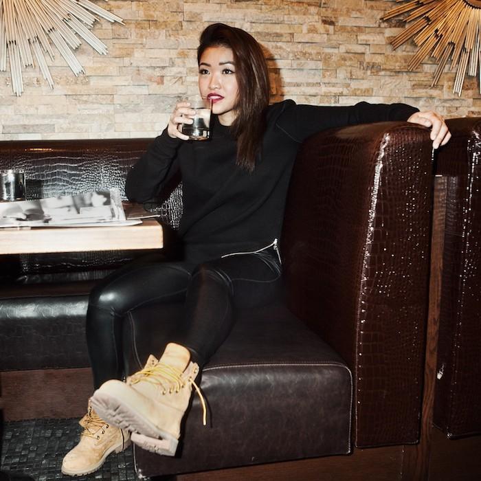 bottine-timberland-femme-cuir-marron-beige-boots-feille-chaussures-rihanna