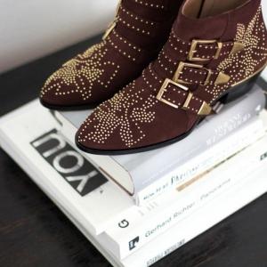 Les bottines cloutées - la tendance chaussures qui a marqué l'hiver