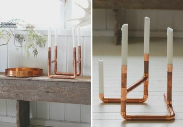 bougeoir-a-deux-materiaux-tube-cuivre