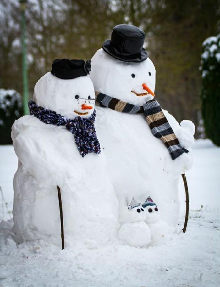 bricolage-bonhomme-de-neige-tete-de-bonhomme-de-neige-famille