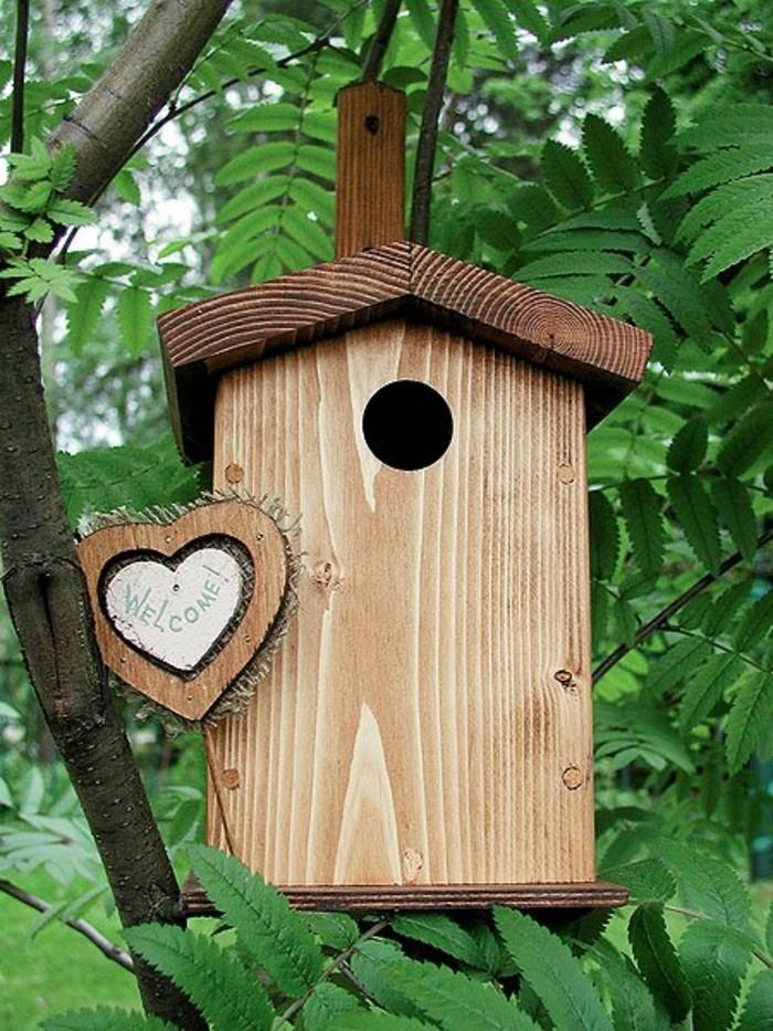 cabane-a-oiseaux-petite-maison-en-bois-bienvenues-arbre-plantes-vertes