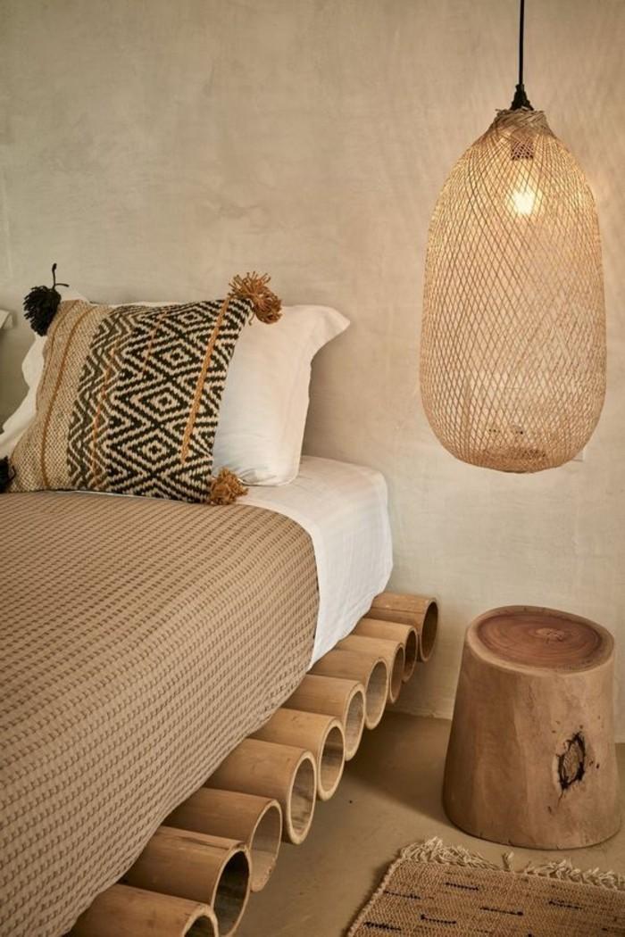 Id es chambre coucher design en 54 images sur - Chambre en bois exotique ...